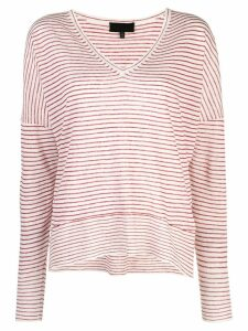 Nili Lotan knitted sweatshirt - Red