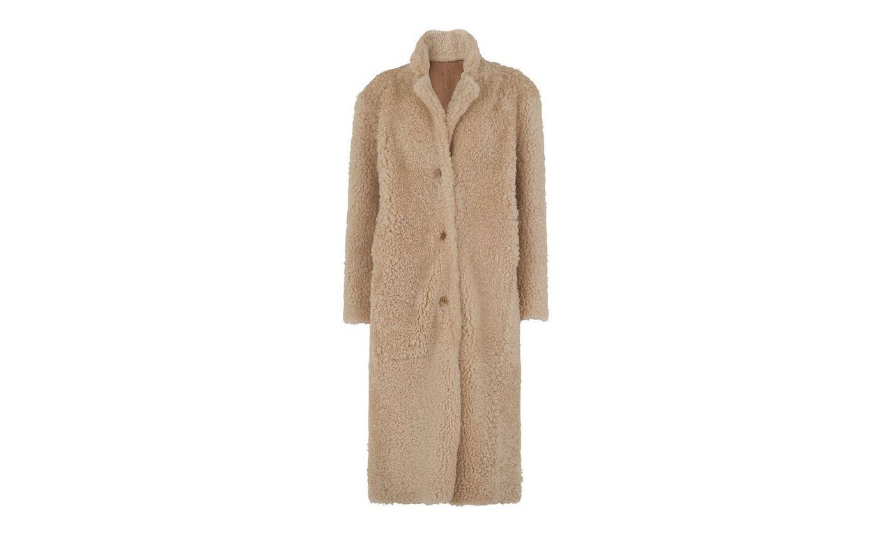 Myers Shearling Coat