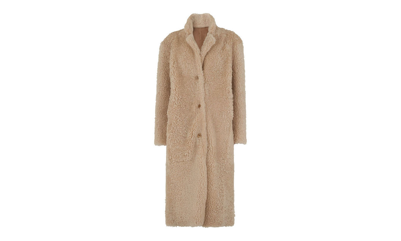 Myers Shearling Coat