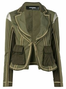 Dsquared2 utility pocket blazer - Green
