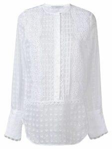 Ermanno Scervino embroidered blouse - White
