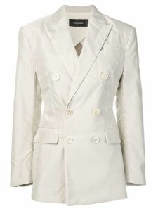 Dsquared2 double-breasted blazer - Neutrals