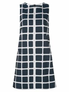 Paule Ka short checked dress - Black