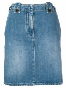 Givenchy knee-length denim skirt - Blue