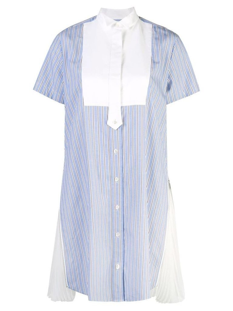 Sacai casual day dress - Blue