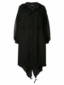 Undercover oversized coat - Black