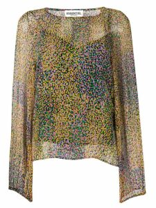 Essentiel Antwerp printed blouse - Yellow
