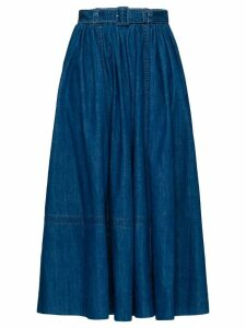 Prada long denim skirt - Blue