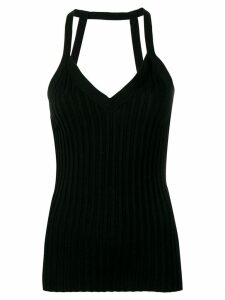 Circus Hotel ribbed tank top - Black