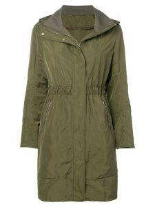 Moncler elasticated waist coat - Green