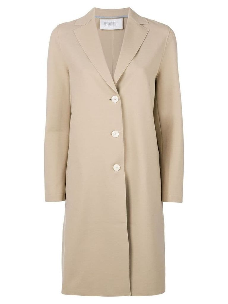 Harris Wharf London single breasted coat - Neutrals