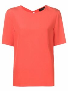 Etro round neck blouse - Red