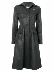 Palm Angels Greetings From coat - Black