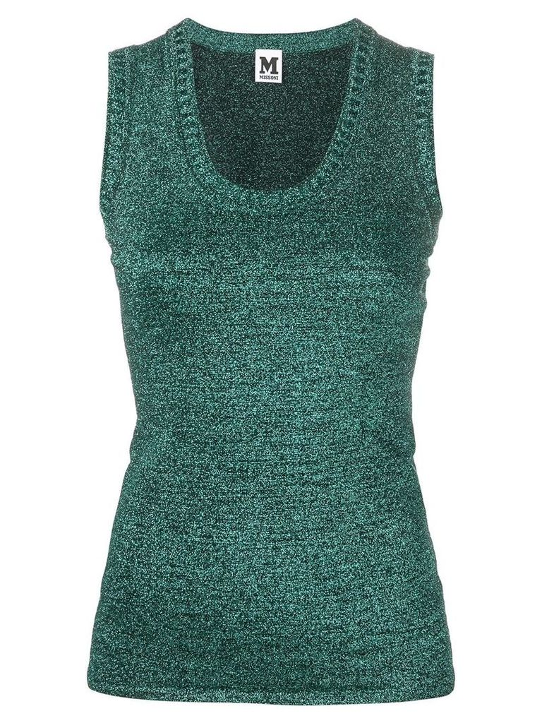 M Missoni vest top - Green