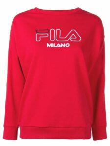 Fila classic jersey sweater - Red