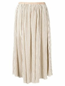 Forte Forte striped skirt - Neutrals