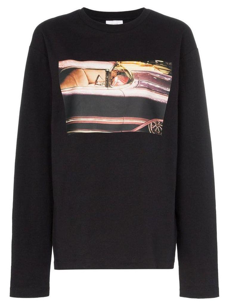 Calvin Klein Jeans Est. 1978 Graphic print long-sleeved cotton T-shirt
