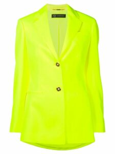 Versace florescent slim blazer - Yellow