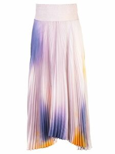 A.L.C. micro pleated midi skirt - Purple