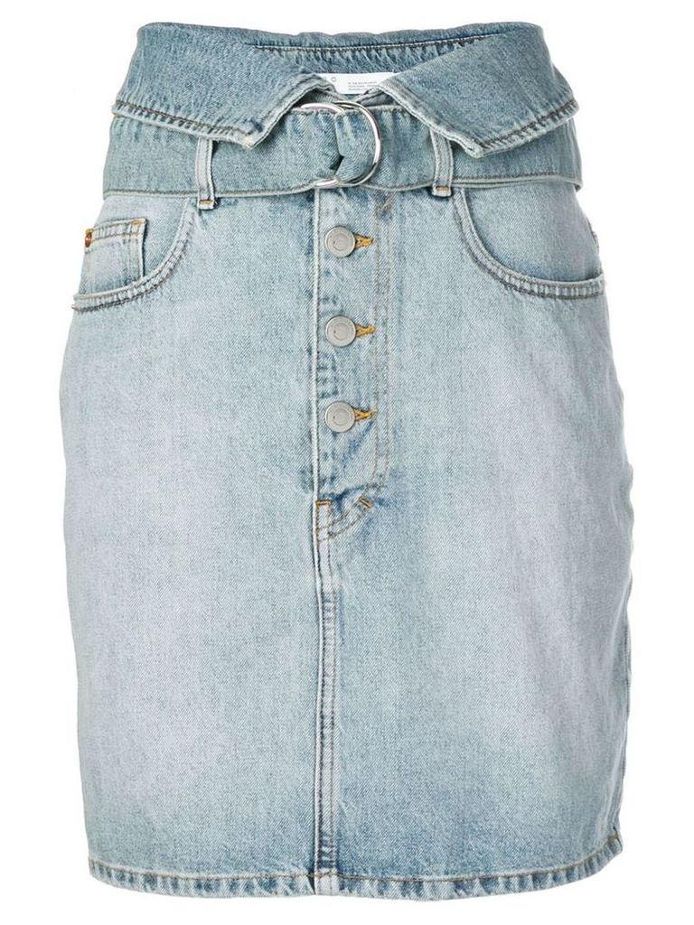 Iro high-waisted denim skirt - Blue