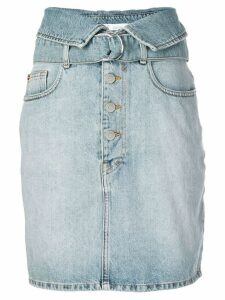 Iro high-waisted denim skirt - Blue