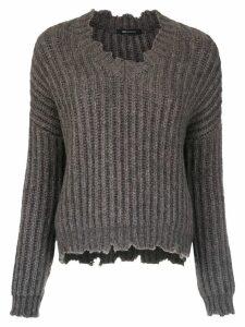 Uma Raquel Davidowicz Sonia knitted sweater - Grey