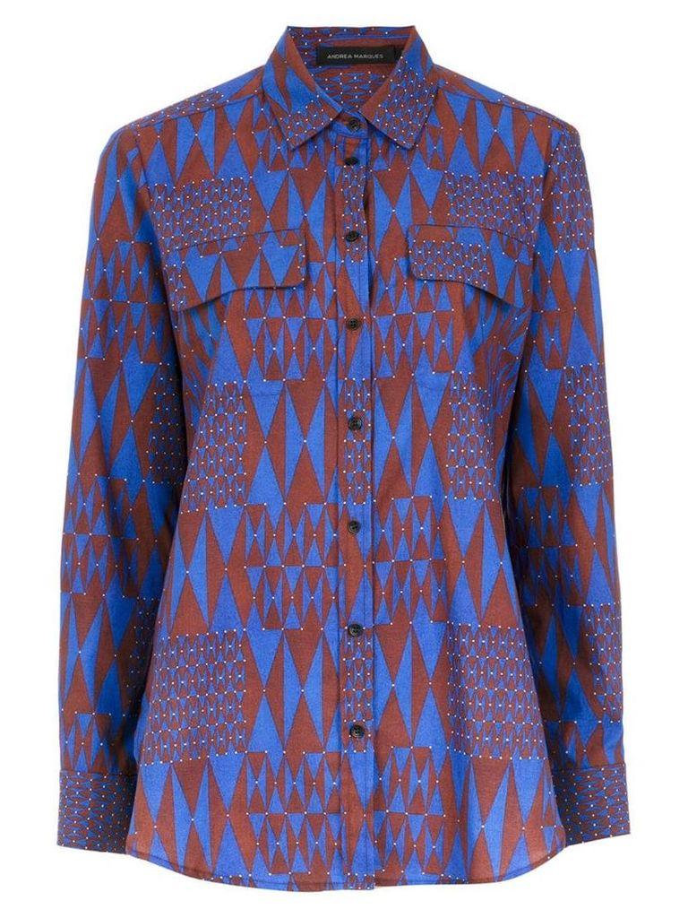 Andrea Marques printed shirt - Multicolour