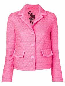 Ermanno Scervino quilted jacket - Pink