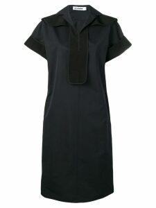 Jil Sander straight fit dress - Blue