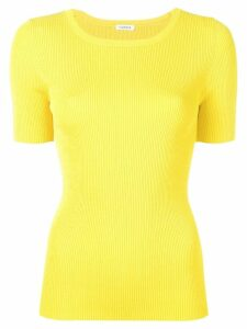 P.A.R.O.S.H. ribbed knitted top - Yellow