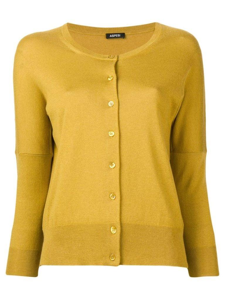 Aspesi boba cardigan - Yellow
