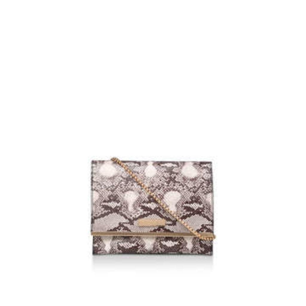 Carvela Ossi - Snake Print Clutch Bag