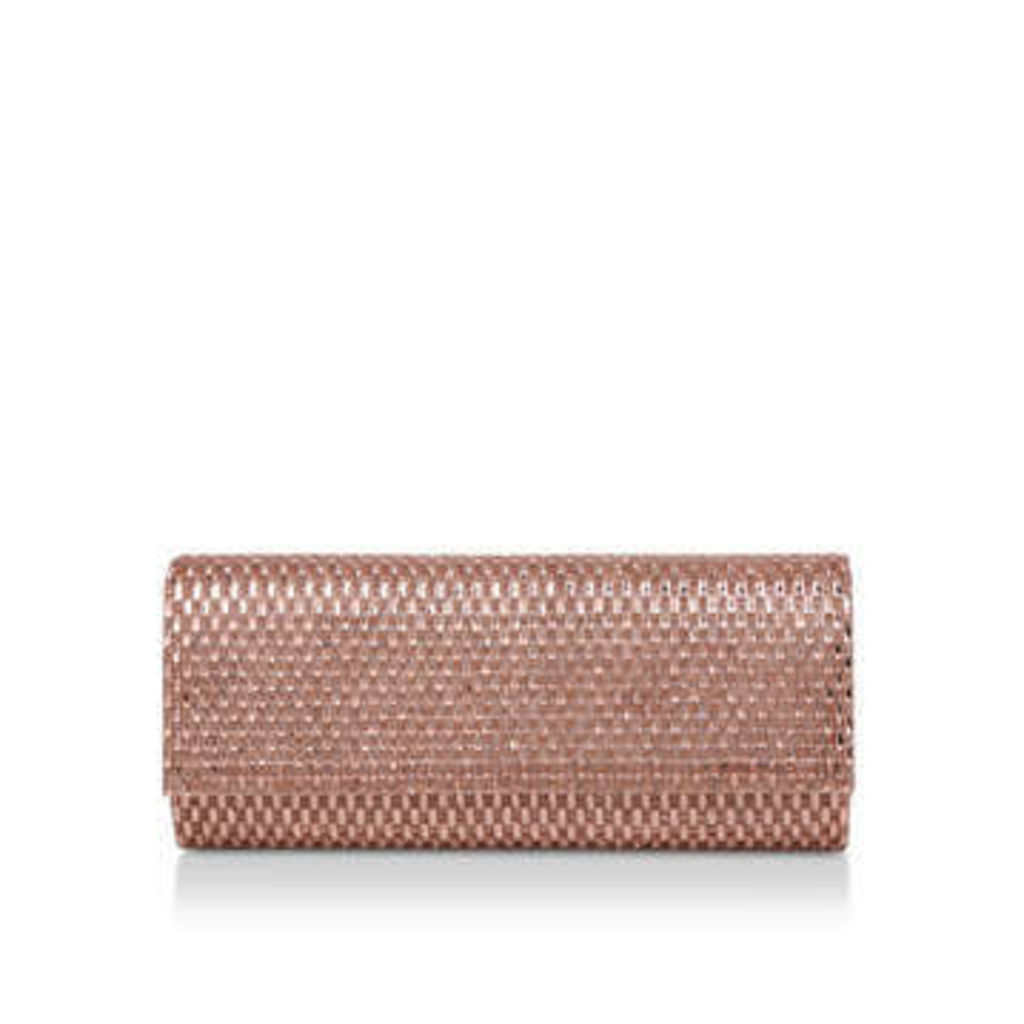 Aldo Montelibretti - Metallic Gold Clutch Bag