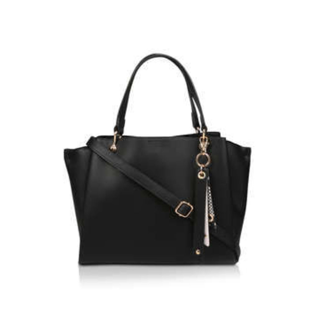 Aldo Nusz - Black Winged Tote Bag
