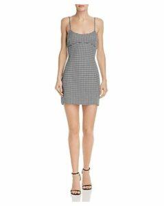 Bec & Bridge French Liason Houndstooth Mini Dress