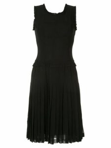 Chanel Pre-Owned sleeveless dress - Black