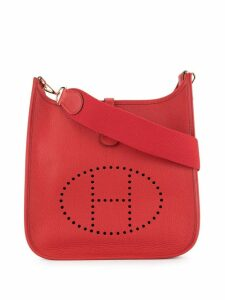 Hermès Pre-Owned Evelyn PM shoulder bag - Red