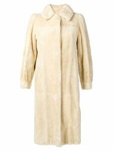 A.N.G.E.L.O. Vintage Cult 1960's fur coat - Neutrals