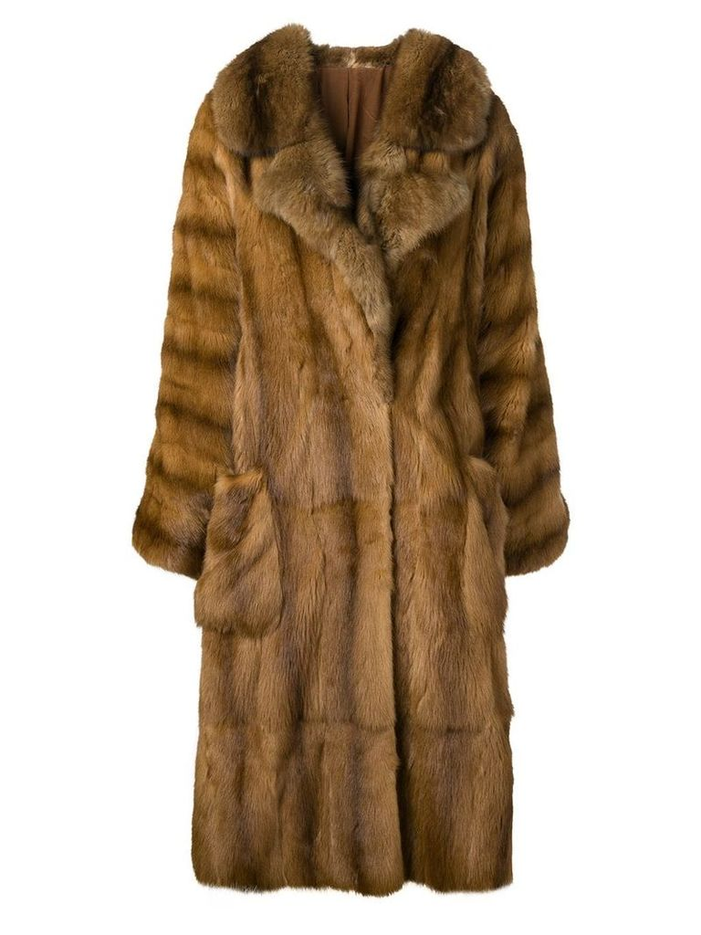 A.N.G.E.L.O. Vintage Cult 1980's coat - Brown