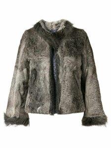 A.N.G.E.L.O. Vintage Cult fur jacket - Grey