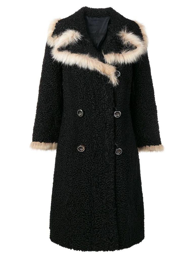 A.N.G.E.L.O. Vintage Cult 1970's coat - Black