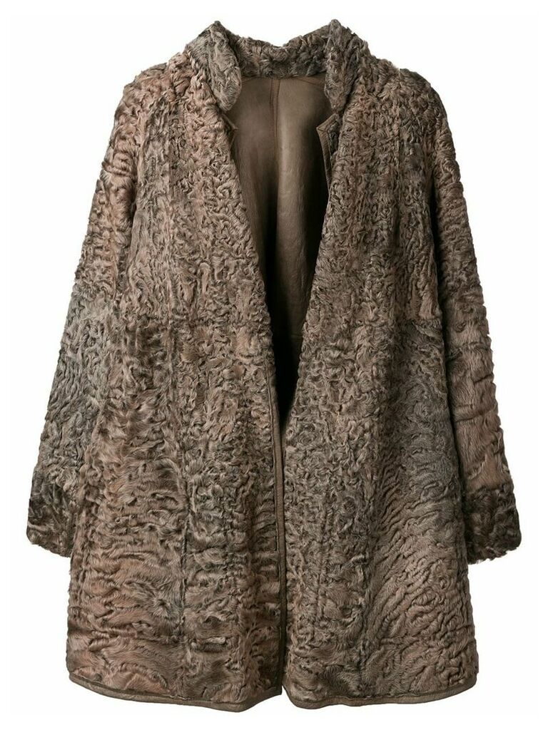 A.N.G.E.L.O. Vintage Cult short fur coat - Brown