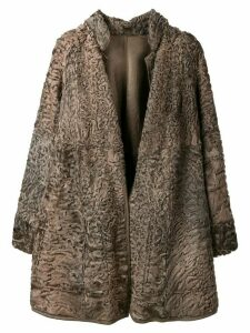 A.N.G.E.L.O. Vintage Cult short fur coat - Brown