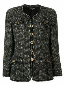 Chanel Pre-Owned patch pocket jacket - Black