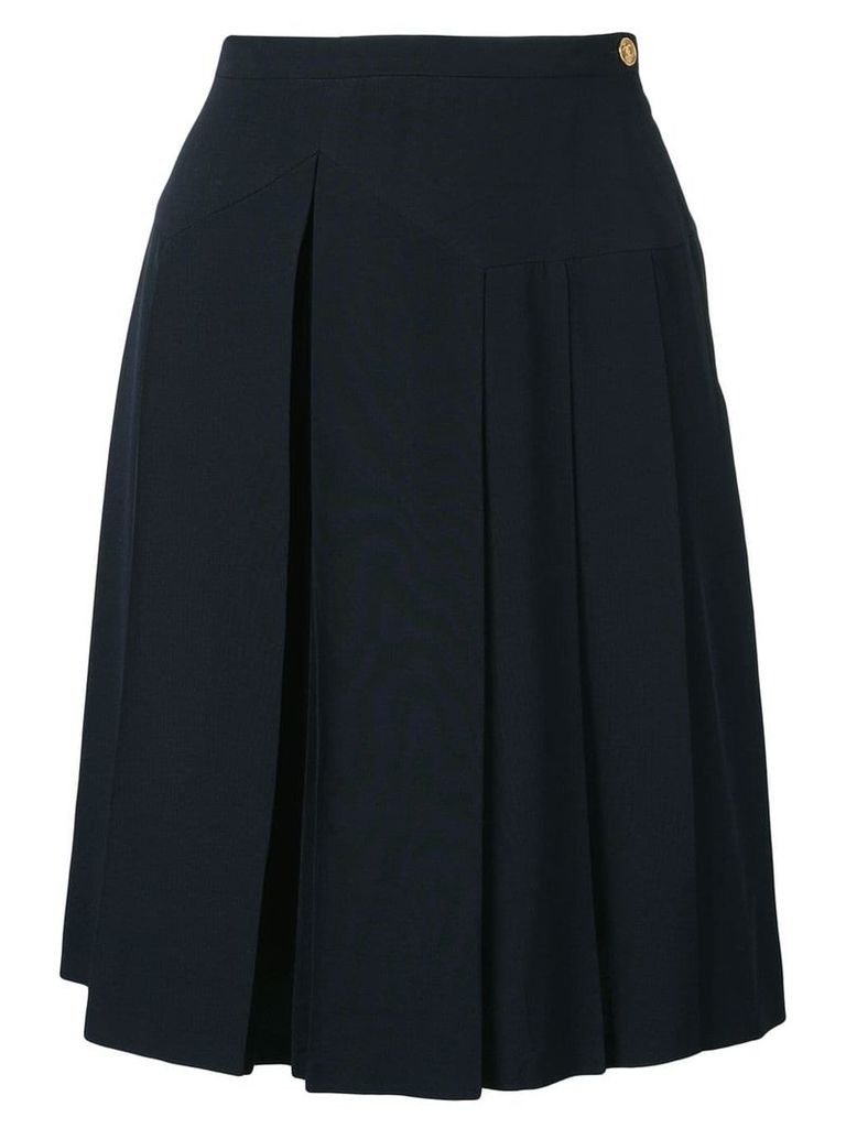Chanel Vintage pleated skirt - Blue