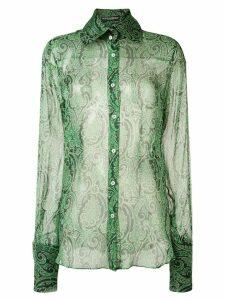 Dolce & Gabbana Pre-Owned paisley print shirt - Green