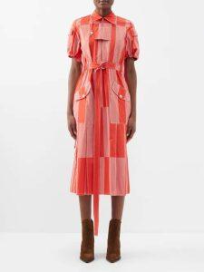 Khaite - Alexa Cross Back Knitted Bodysuit - Womens - Cream