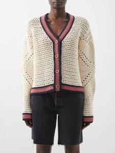 Romance Was Born - Psychedelic Vine Plissé Satin Mini Dress - Womens - Pink Multi