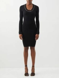 Erdem - Elena Isabelle Print Pleated Cotton Skirt - Womens - Burgundy Print