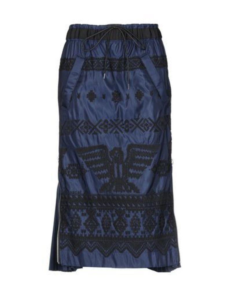 SACAI SKIRTS 3/4 length skirts Women on YOOX.COM